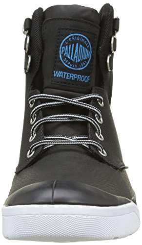 Palladium Palaru Hi WP H, Baskets Hautes Homme Noir (115 Black/White)