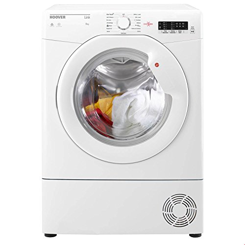 Hoover Link BHLC8LG 8kg Condenser Tumble Dryer in White 2 Drying Temps