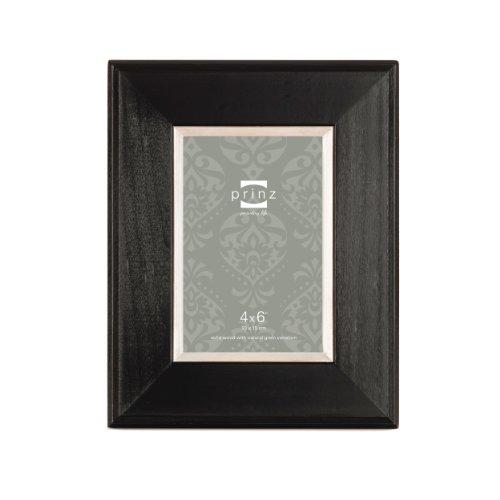 PRINZ Wyatt 4-Zoll von 6schwarz Pappel Rahmen
