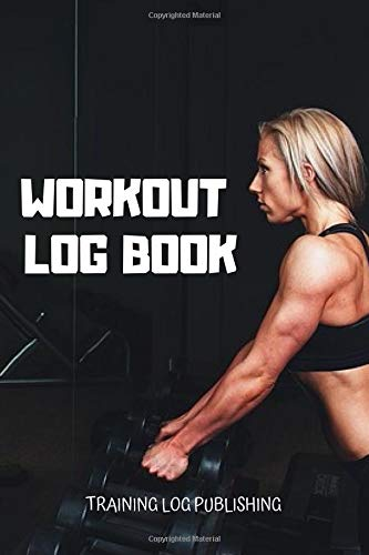 Workout Log Book: Exercise Notebook, Workout Book Tracker, Gym Workout Book, Gym Diary (Colorful & Cartoon Cover, 123 Pages, 6 x 9) por Training Log Publishing