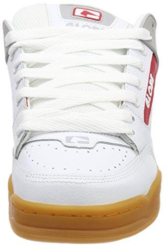 Globe Tilt, Scarpe da Skateboard Uomo Weiß (White/Gum)