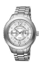 Esprit Damen Armbanduhr Marin Aluminium Speed silber, ES105802002