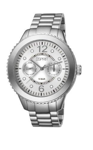 Esprit Damen Armbanduhr Marin Aluminium Speed silber, ES105802002 (Aluminium-marine)