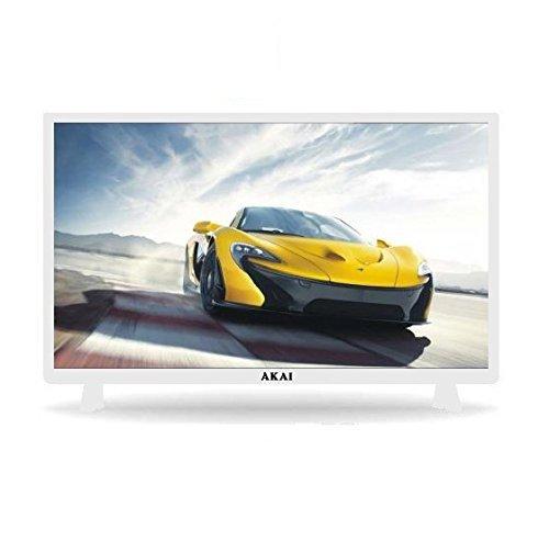 "AKAI TV LED 32"" HD READY 100 HZ DIGITALE TERRESTRE DVB-T2 SMART TV WI-FI COLORE BIANCO"