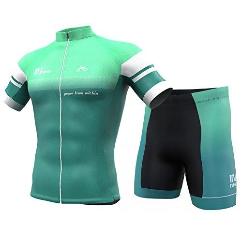 INBIKE Maillot Ciclismo,Culotte Ciclismo Verano para Hombre(M)