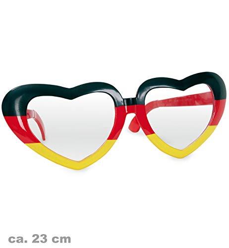 Riesen Brille Riesenbrille Fan Deutschland FAN - Artikel ca. 23 cm