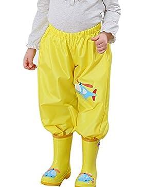Outerwear impermeabile con cappuccio in cartone animato per i bambini e ragazzi 90-145cm