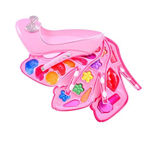 TianranRT Wenig Mädchen so tun Make-up Kit Kosmetik so tun Spielzeug Kinder am besten Geschenk Spielzeug Set (B)