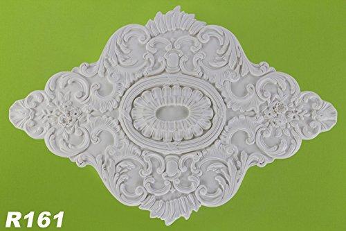 1-rosette-dekor-stuck-deckenrosette-wand-polyurethane-stossfest-73x108cm-r161
