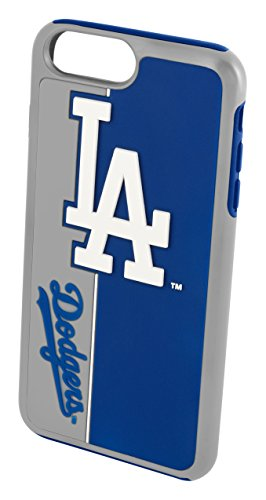 Forever Collectibles iPhone 8/7 Dual Hybrid-Bold Fall - MLB Los Angeles Dodgers -