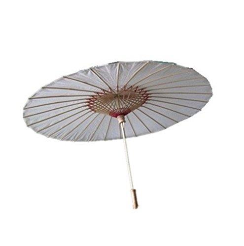 SROVFIDY Chinesischer Stil Bambus Umbrella Sonnenschirm Stick Umbrella Chinesische Antike...