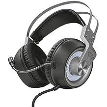 Trust GXT 4376 Ruptor 7.1 Gaming Kopfhörer (7.1 Virtual Surround Sound, für PC und Laptop, LED-Beleuchtung) schwarz