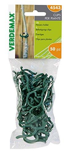 Verdemax 4543 3 Anneaux pour Plantes (Lot DE 50)
