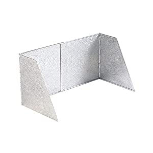 Alu-Windschutz Gewicht->700 g L x B x H->62 x 30 x 32 cm