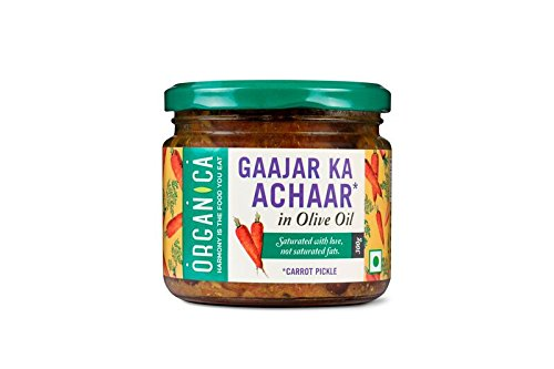 Organica Olive Oil Carrot Pickle, 300g