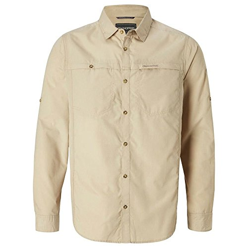 41DmIyySsKL. SS500  - Craghoppers Men's Kiwi Trek Long Sleeved Shirt Long Sleeve Shirt