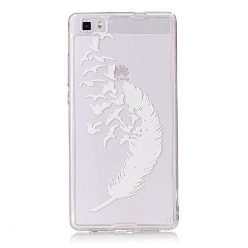 Lite Custodia Nera Ultra Cover P8 Huawei felfy 5xRqW16n