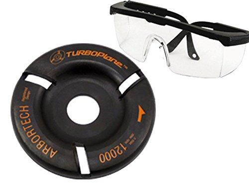 Arbortech TURBO Plane Turboplane inkl. Schutzbrille - Frässcheibe für Holz / Winkelschleifer