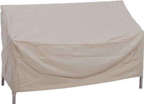 Stern 454934 Schutzhülle für 3-er Bänke, circa 180 x 55 x 80 cm, natur