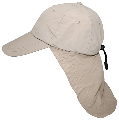 Cap, Sahara, khaki, langer Nackenschutz