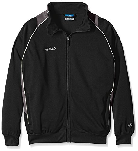 Jako Kinder Trainingsjacke Attack 2.0, Schwarz/Grau, 128, 8772-08