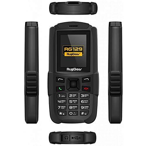 RugGear RG129 Téléphone Portable Durci et Étanche  - Dual SIM