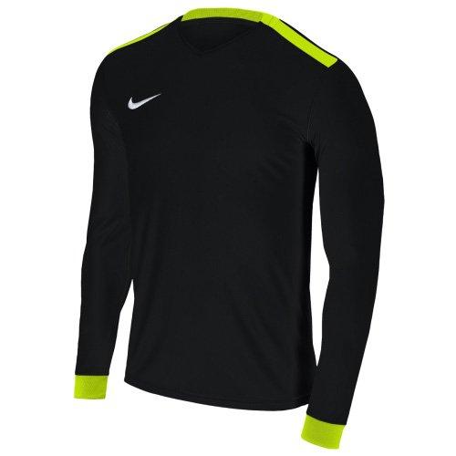 Nike Herren Park Derby II Trikot, Black/Volt/White, L - Nike Langarm