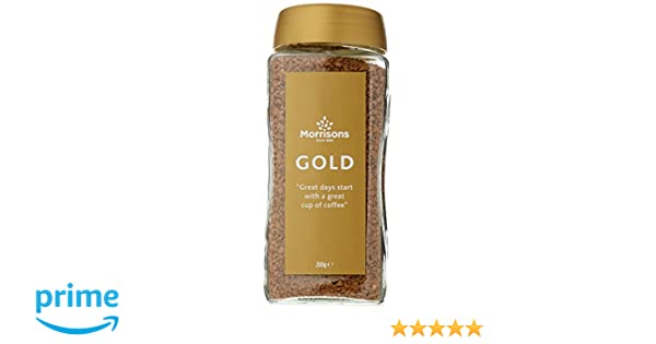 Morrisons Gold Instant Coffee 200 G Pack Of 12