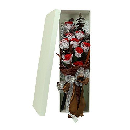 -box/Nelke Hand Strauß Rosen/Valentine-C ()