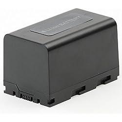 subtel® Batterie Premium Compatible avec JVC GY-HM200 GY-HM600 GY-HM620 GY-HM650 GY-HM660 GY-HMQ10 GY-LS300CHE JY-HM360E, SSL-JVC50 SSL-JVC75 4400mAh Accu de Rechange Remplacement
