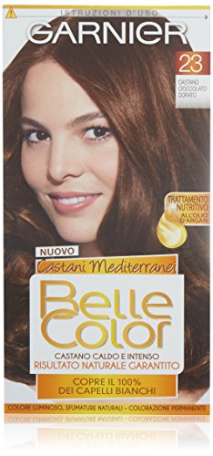 Tinta Per Capelli Colore Permanente Belle Color 23 Castano Dorato Naturale
