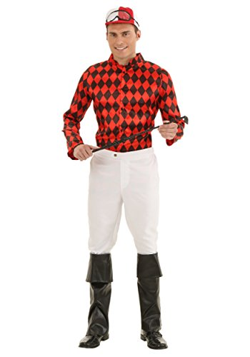 Adult Horse Jockey Fancy Dress Costume Large