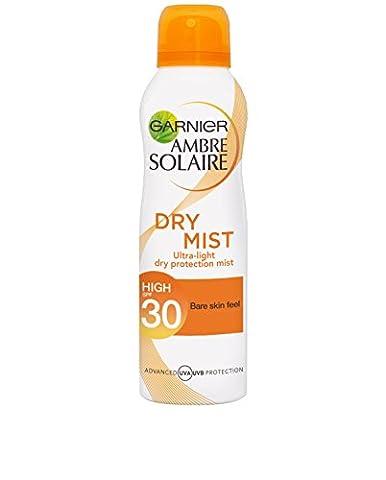 Ambre Solaire Dry Mist Sun Cream Spray SPF30 200ml