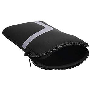 Hama Sleeve Tasche für Nintendo Switch (Hülle aus weichem Material, mit Reißverschluss) Konsolen Schutzhülle schwarz