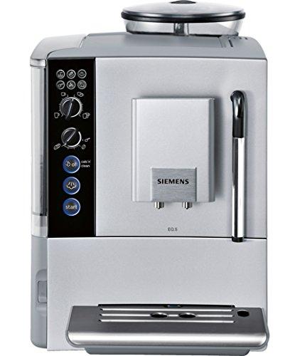 Siemens TE501201RW - Cafetera (Independiente, Máquina espresso, 1,7 L, Molinillo integrado, 1600 W, Plata)