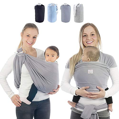 Babytragetuch & Ring Sling 2 in1, Elastisches