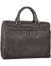 Leonhard Heyden Glasgow Briefcase leather 39 cm notebook compartment