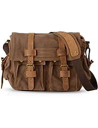 d846705d0436 FANDARE Nouveau Rétro Sacs Portés épaule Messenger Bag Sac Bandoulière 14  Pouces Laptop Briefcase Hommes Femmes Sac de Sport Travail…