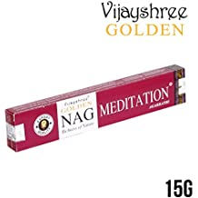 15 gms Box of Golden NAG MEDITATION Agarbathi Incense Sticks - in stock and shipped by Busy Bits by Golden Nag