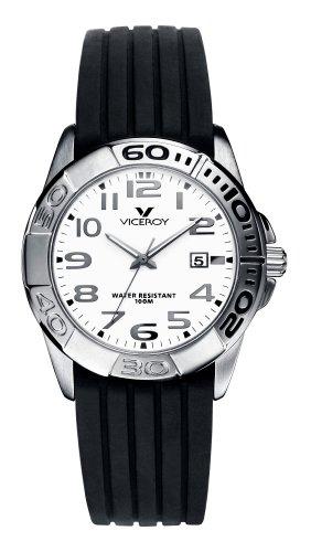 Viceroy 40596-15 – Reloj de mujer de cuarzo, correa de caucho color negro