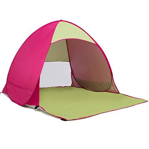 Kinderzelt Kinderzelt Outdoor Automatic Beach Zelt Speed   Open Rainproof Sunscreen Portable Picknick Kinder Kleines Zelt Durable (Farbe: B),Rosa,Einheitsgröße