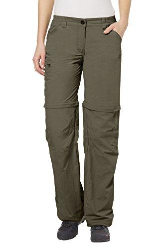 VAUDE Damen Hose Women\'s Farley Zip Off Pants IV Shorts, 38, Tarn