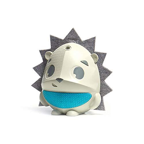 Tiny Love Sound 'N Sleep Proiettore di Stelle Musicale con Mp3 Integrato e Sensore del Pianto, Simpatica Forma di Riccio, Colore Bianco