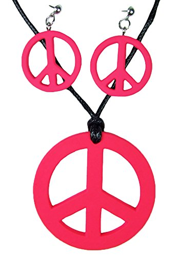 Hippie Peace Schmuck Set 3-tlg. -