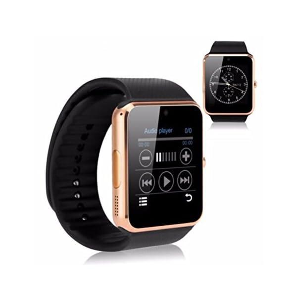 GT08 Bluetooth SmartWatch SmartWatch con Ranura para Tarjeta SIM y la cámara de 2.0 megapíxeles para el iPhone/Samsung y… 7