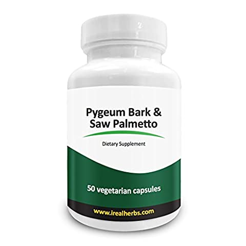Real Herbs Pygeum Bark Pure Extract 4:1 350mg and Saw