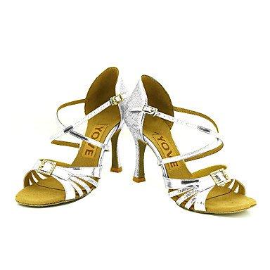 Ruhe @ Damen Beruf Dance Schuhe Schwarz