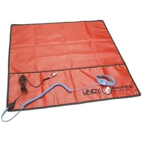 Lindy 43080 - Kit de alfombrilla antiestática de trabajo