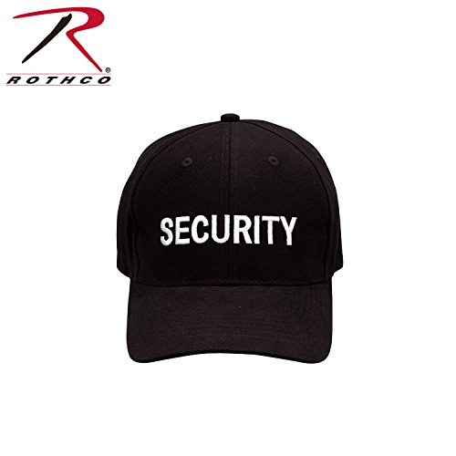 Rothco Low Profile Cap - Black/Security - White