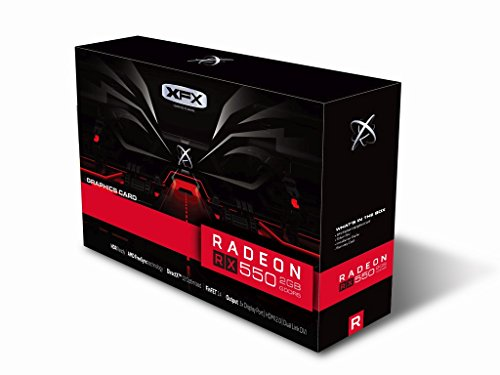 XFX RX-550P2SFG5 Carte graphique AMD Radeon RX 550 2 Go GDDR5 PCI Express